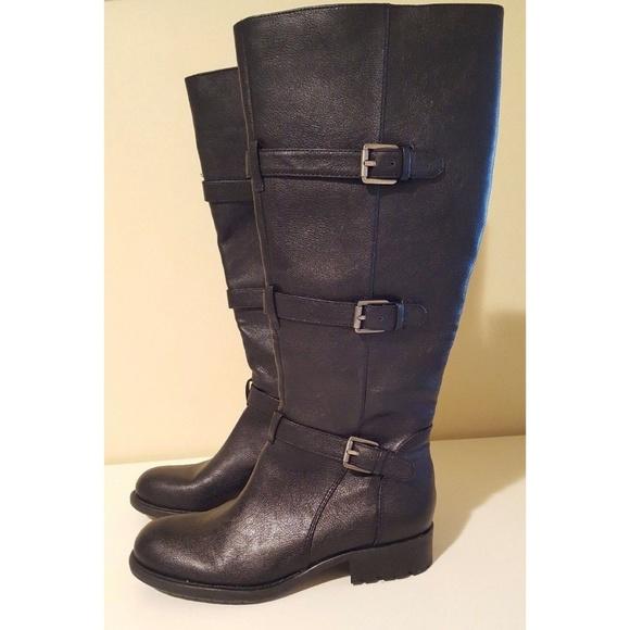 814bd4d09cc Franco Sarto Petite Wide Calf Black Boot Riding 6